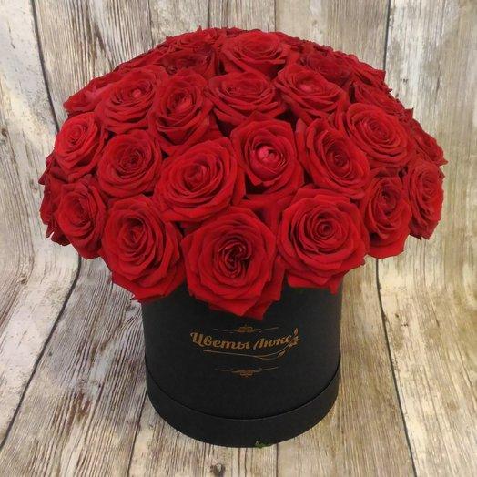 Красные Розы Люкс: букеты цветов на заказ Flowwow