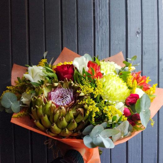 Сказочное озеро (Букет 52): букеты цветов на заказ Flowwow