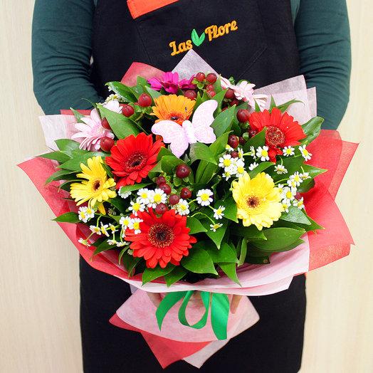 Букет Летний луг: букеты цветов на заказ Flowwow