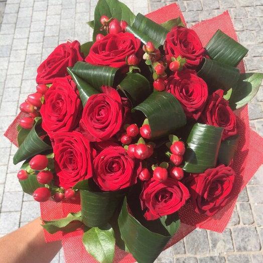 Букет страстный поцелуй: букеты цветов на заказ Flowwow