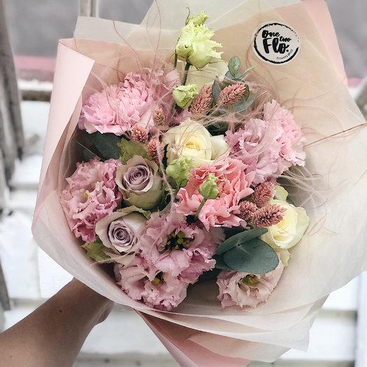Кружевной букет: букеты цветов на заказ Flowwow