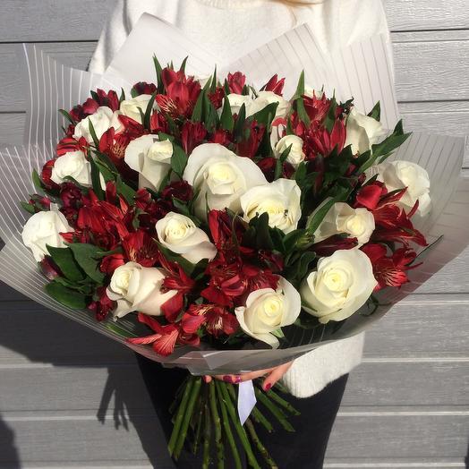 Ягодный пломбир: букеты цветов на заказ Flowwow