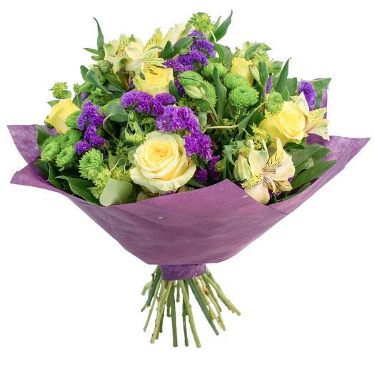 Букет 151 Лилас: букеты цветов на заказ Flowwow