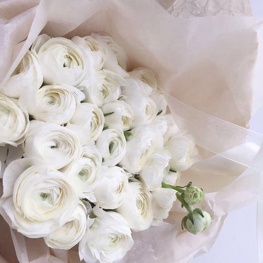 Белые лютики: букеты цветов на заказ Flowwow