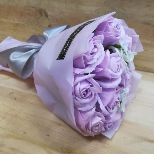 Сиреневое наслаждение: букеты цветов на заказ Flowwow