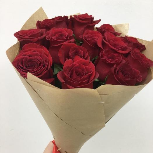 Розы премиум: букеты цветов на заказ Flowwow