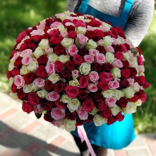 201 роза MIX
