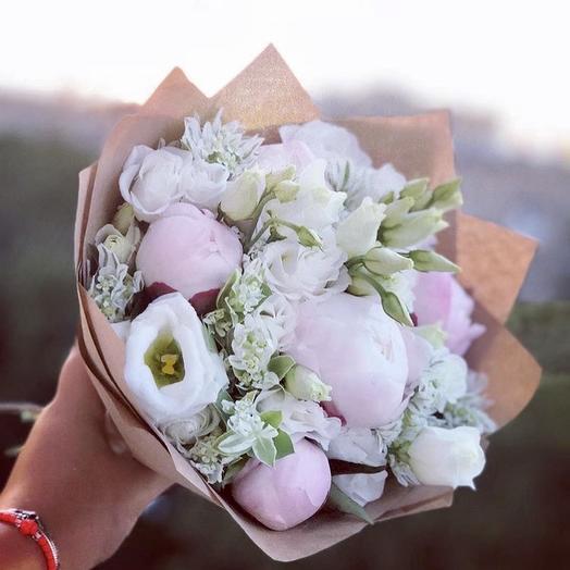 Букет «Амалия»: букеты цветов на заказ Flowwow