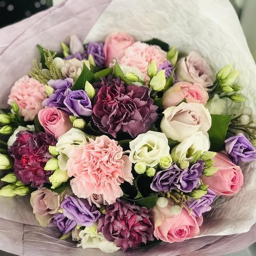 Букет Нежный поцелуй: букеты цветов на заказ Flowwow