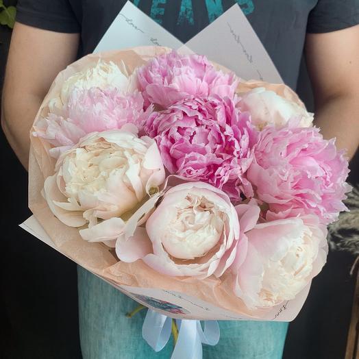 «Клубника со сливками»: букеты цветов на заказ Flowwow