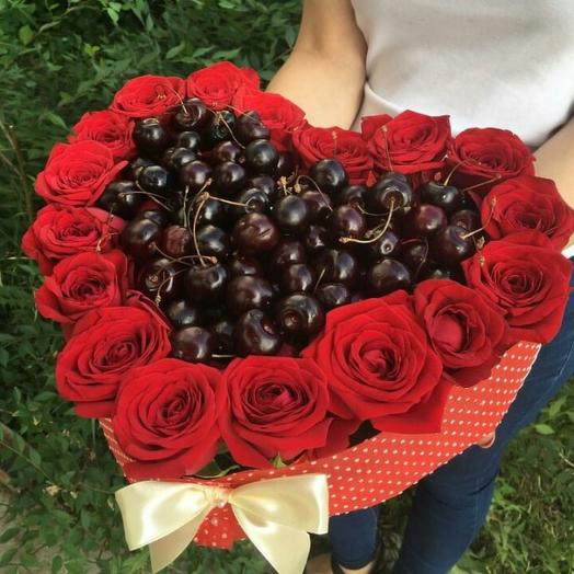 Чери: букеты цветов на заказ Flowwow