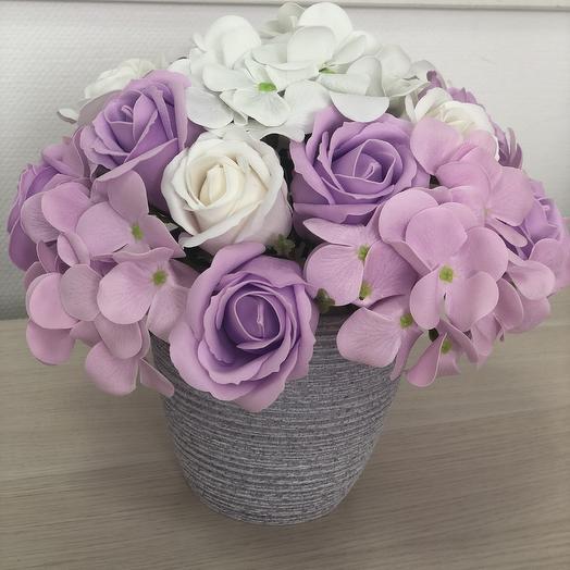 Букет 8 из мыльных цветов: букеты цветов на заказ Flowwow