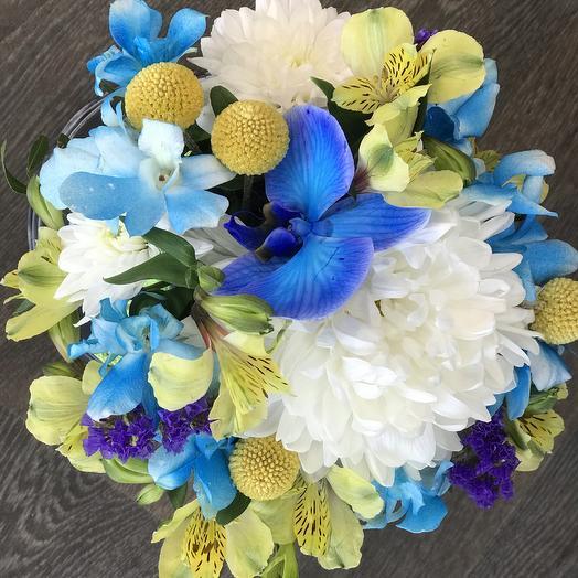 Морской пейзаж: букеты цветов на заказ Flowwow