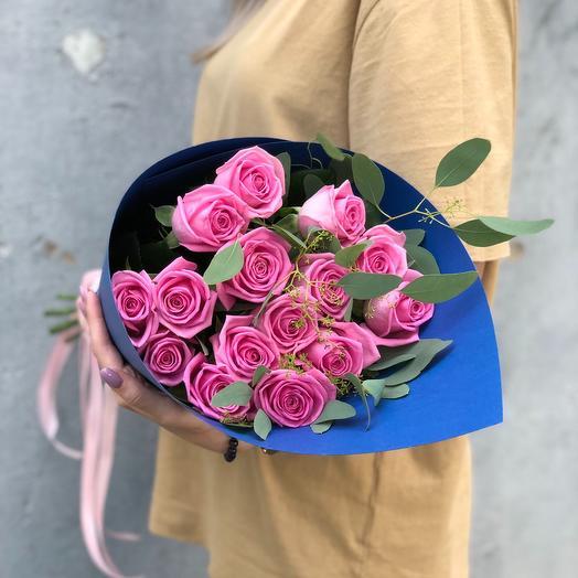 """Букет из роз """"Индиго"""": букеты цветов на заказ Flowwow"""