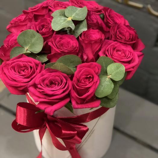 17 пурпурных роз