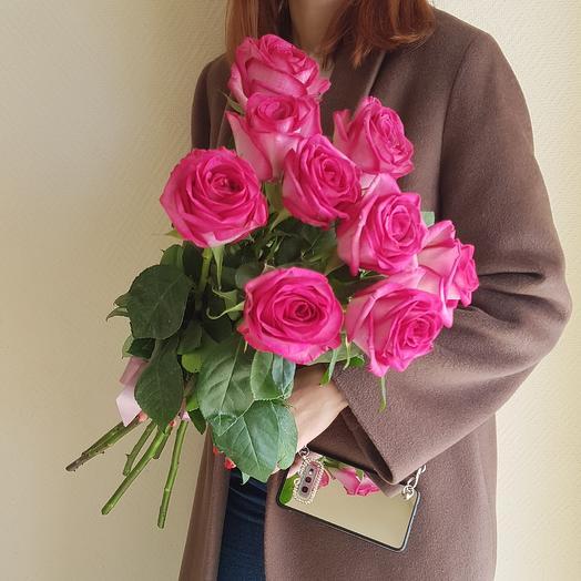Розы Кения 2: букеты цветов на заказ Flowwow