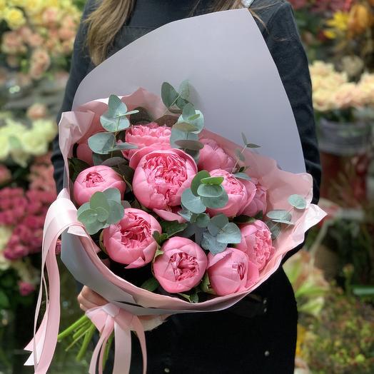 Букет нежнейших пионов: букеты цветов на заказ Flowwow