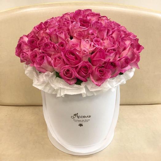 Малиновое счастье: букеты цветов на заказ Flowwow