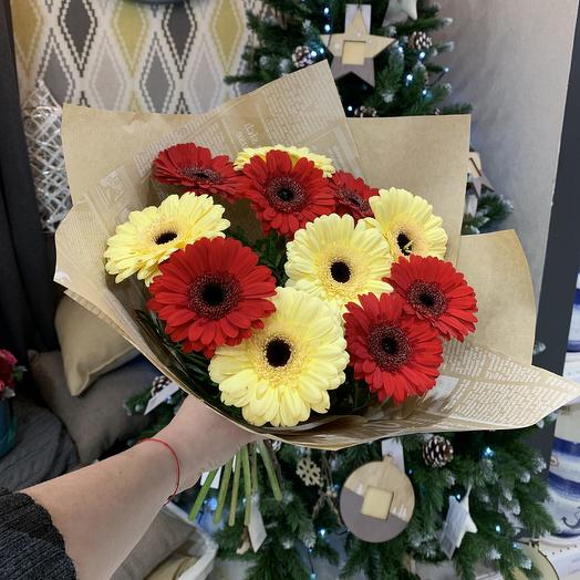 Букет гербер мини: букеты цветов на заказ Flowwow