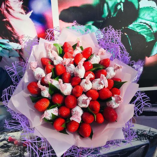 Съедобный букет: букеты цветов на заказ Flowwow