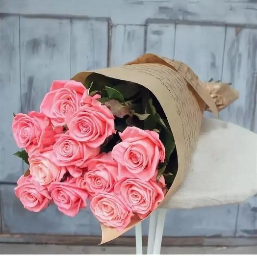 Моно букет из роз: букеты цветов на заказ Flowwow