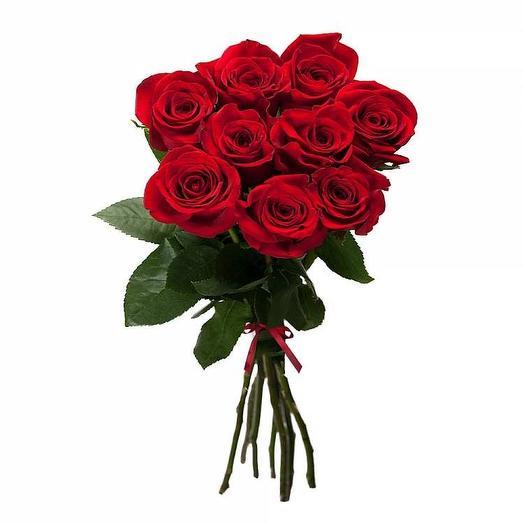11 Красных роз 40 см