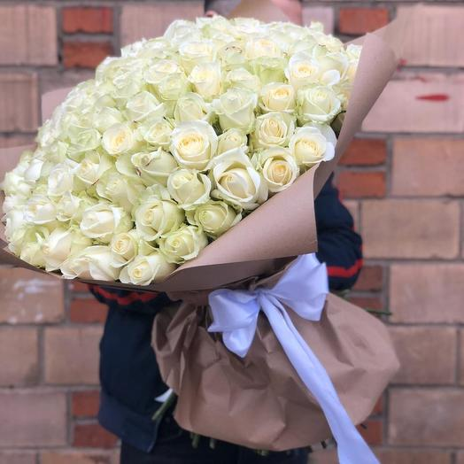 Букет 101: букеты цветов на заказ Flowwow