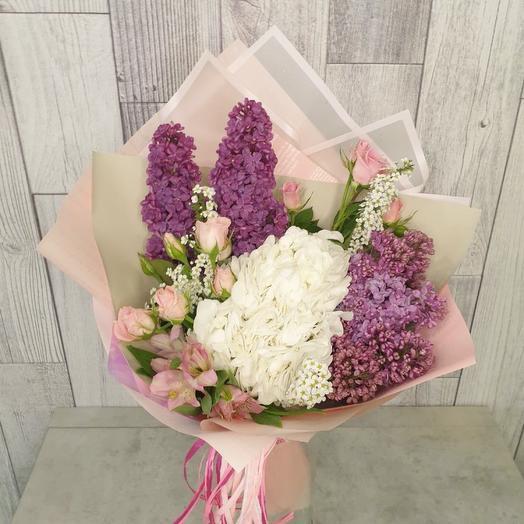 Кружево сирени: букеты цветов на заказ Flowwow