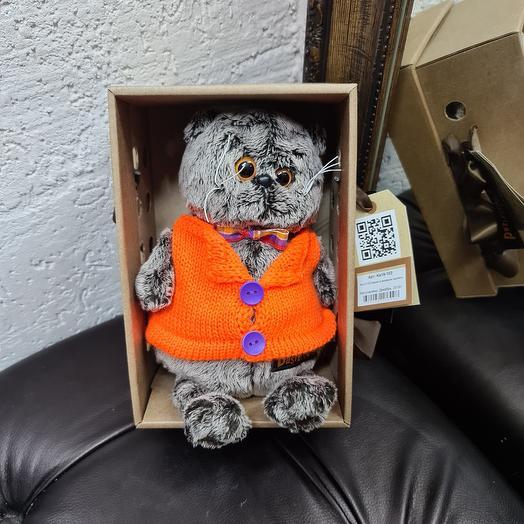 Басик в коробке