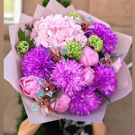 Фиолетовая пудра