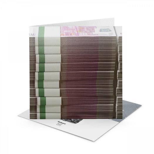 Открытка Scrincard Банкноты