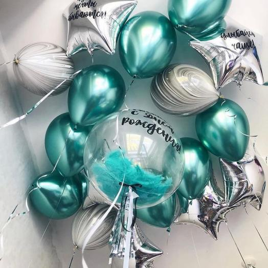 Воздушные шары гелиевые