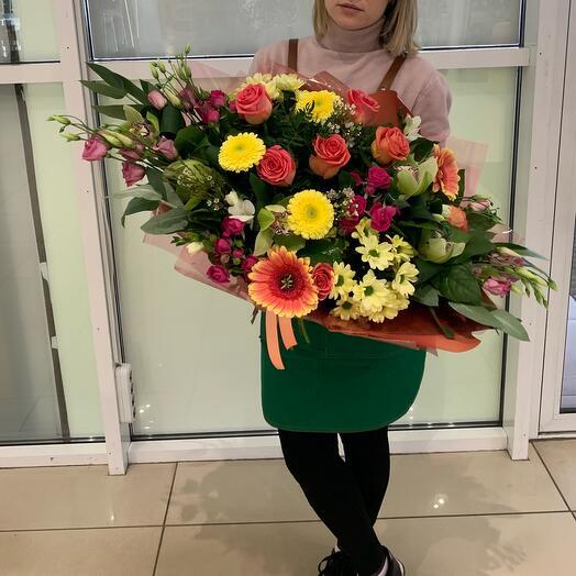 Влюблённая цветочница