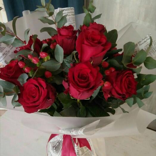 Признание в верности. Розы
