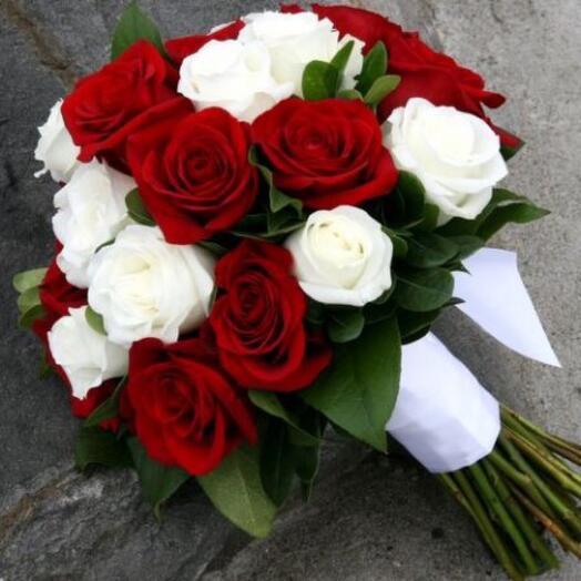 Букет невесты «Страсть и нежность»