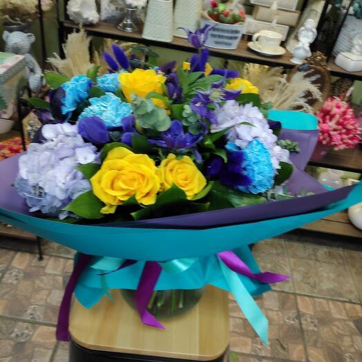 Букет цветов Завтрак В Париже