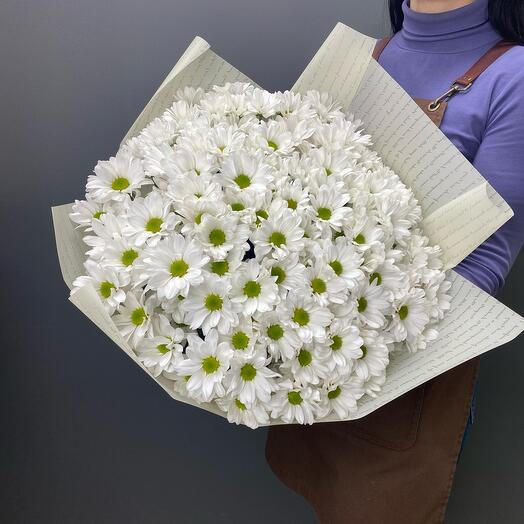 Bouquet of 25 chrysanthemums