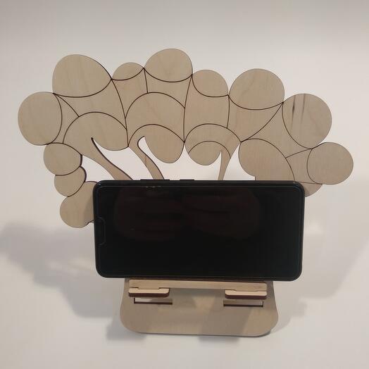 "Подставка под телефон  ""Брокколи "" 246x215мм подставка под планшет, подставка под книгу"