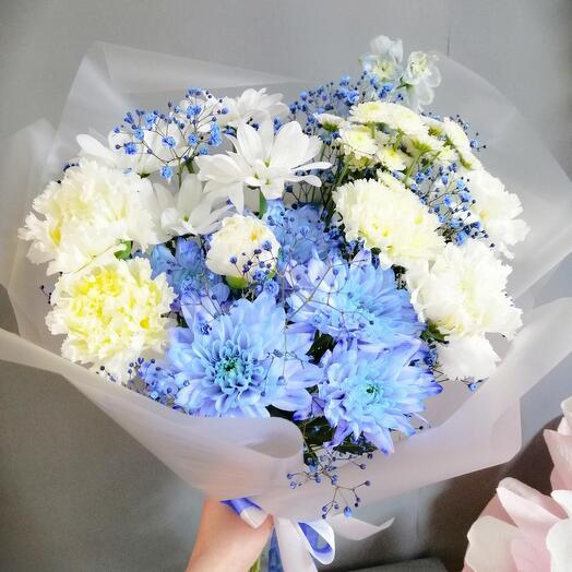 Blue bouquet 💙