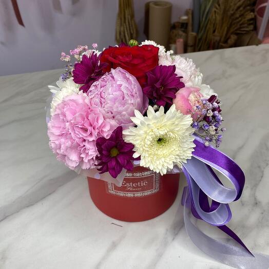 Фиолетовая коробочка 🔮