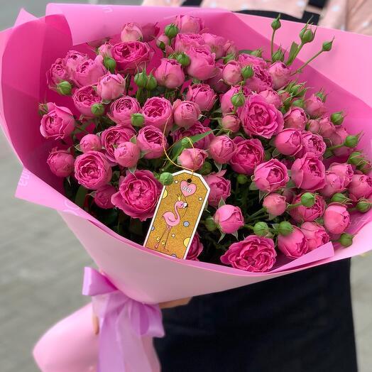 Розовый фламинго