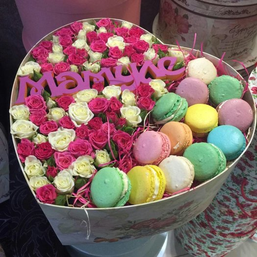 Сладкий восторг: букеты цветов на заказ Flowwow