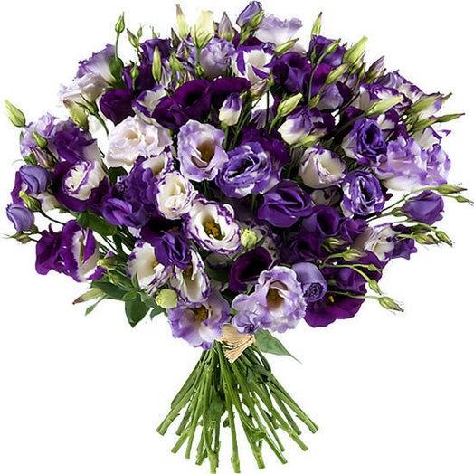 Нежность эустомы (Букет 243): букеты цветов на заказ Flowwow