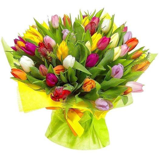Букет  71 Лессия: букеты цветов на заказ Flowwow