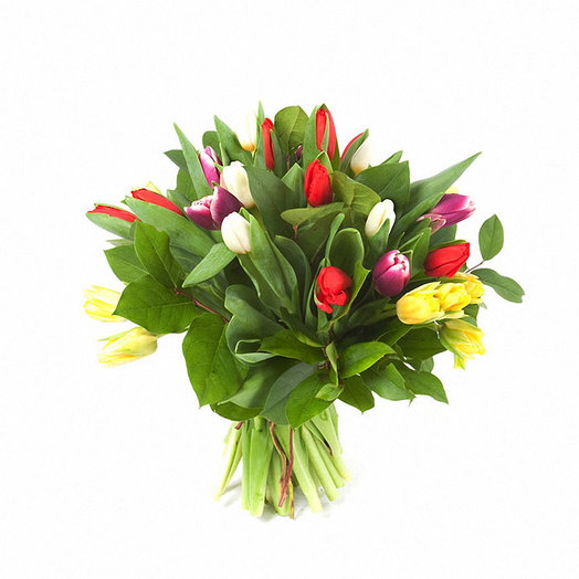Букет «Калейдоскоп»: букеты цветов на заказ Flowwow