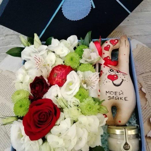 Моей сладкой: букеты цветов на заказ Flowwow