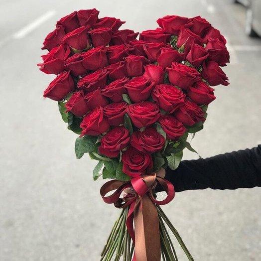 """Розы красные """"Сердце мое"""""""