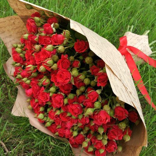 Букет Вспыхнувшие чувства: букеты цветов на заказ Flowwow