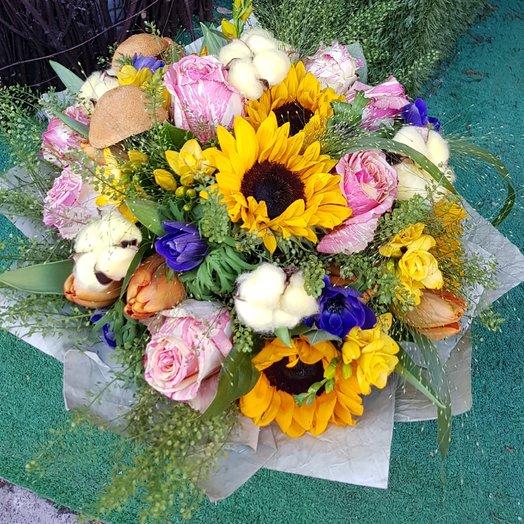 Солнце в зените: букеты цветов на заказ Flowwow