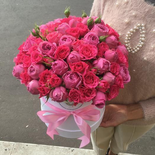 """Букет в коробке"": букеты цветов на заказ Flowwow"